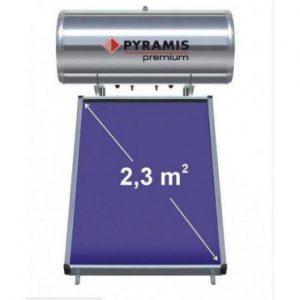mafou.gr - Ηλιακός Θερμοσίφωνας Premium Pyramis